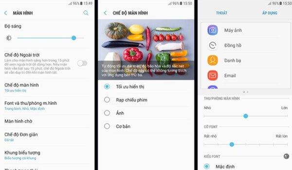 Điểm trừ là điện thoại Galaxy J3 Pro không có tính năng Always On Display cũng như lọc ánh sáng xanh.