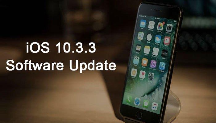 Phiên bản cuối cùng của hệ điều hành iOS 10 - iOS 10.3.3 đã được gửi đến điện thoại iPhone/iPad/iPod của người dùng