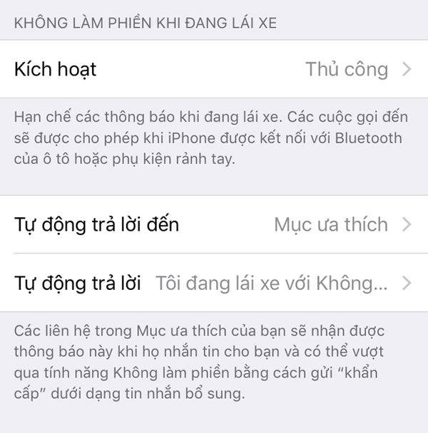 Tính năng không làm phiền khi lái xe được Apple tích hợp trên iOS 11 Beta 2 của điện thoại iPhone
