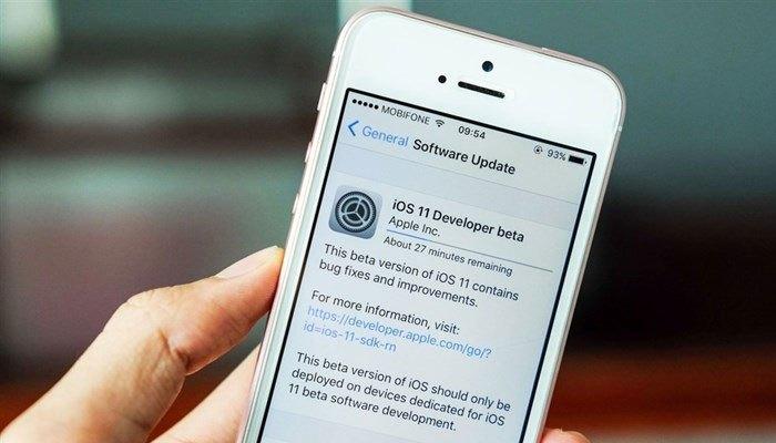 Kiểm tra xem bản cập nhật iOS 11 Beta 4 đã được gửi về điện thoại iPhone của bạn chưa