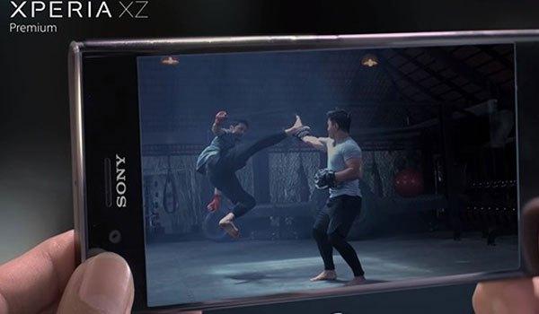 Khả năng quay video chậm đáng nể của điện thoại Sony Xperia XZ Premium
