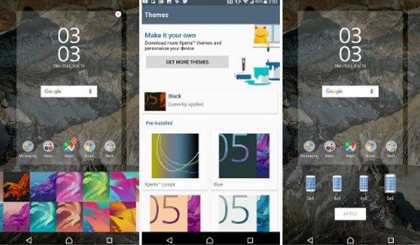 Làm chiếc điện thoại Sony Xperia XZ Premium trở nên phù hợp với cá tính của bạn bằng cách thay đổi màu sắc và chủ đề