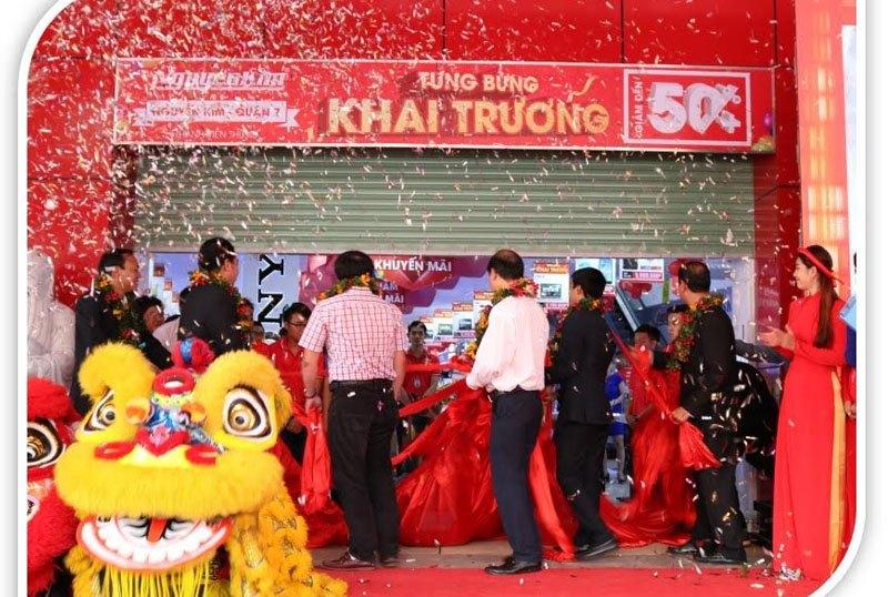 Nguyễn Kim Quận 7 chính thức mở cửa và đi vào hoạt động.