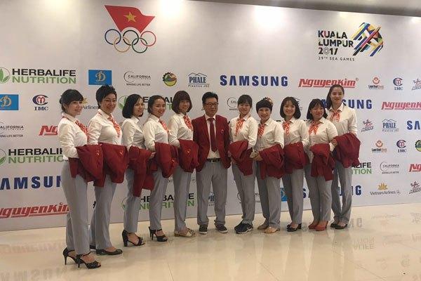 Nguyễn Kim tài trợ Đoàn Thể thao Việt Nam dự SEA Games 29