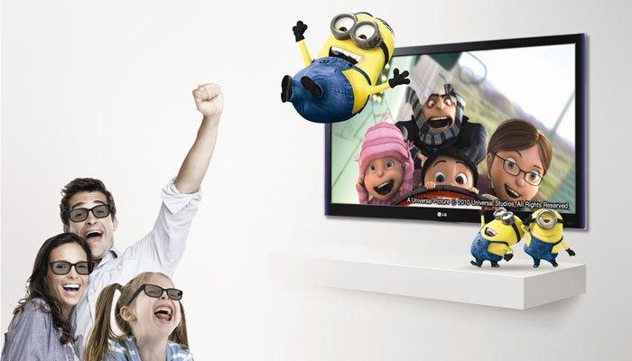 Tivi 3D cho bạn xem những thước phim 3D tại gia dễ dàng