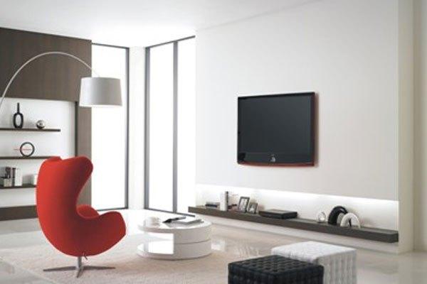 Tivi LCD mỏng, dễ dàng treo tường giúp tiết kiệm tối ưu không gian nhà bạn
