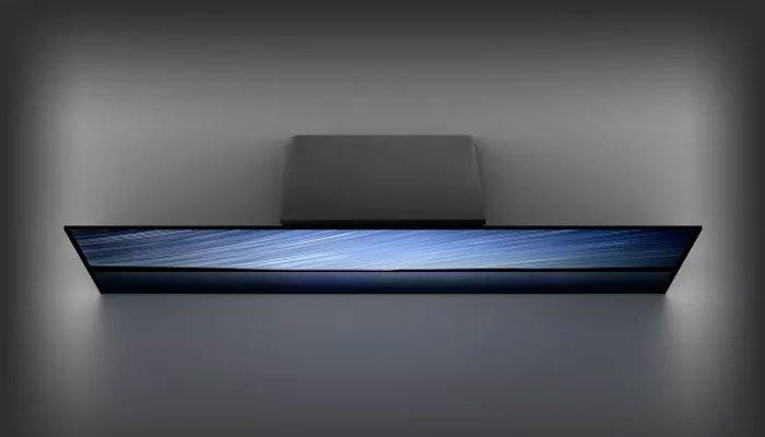 Thiết kế dạng phiến biến chiếc tivi Sony BRAVIA OLED A1 thành một kiệt tác nghệ thuật
