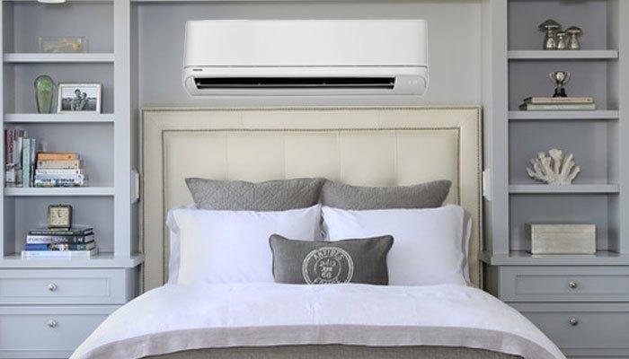 Máy lạnh Toshiba RAS-H10QKSG-V công suất 1HP phù hợp với căn phòng 15m2