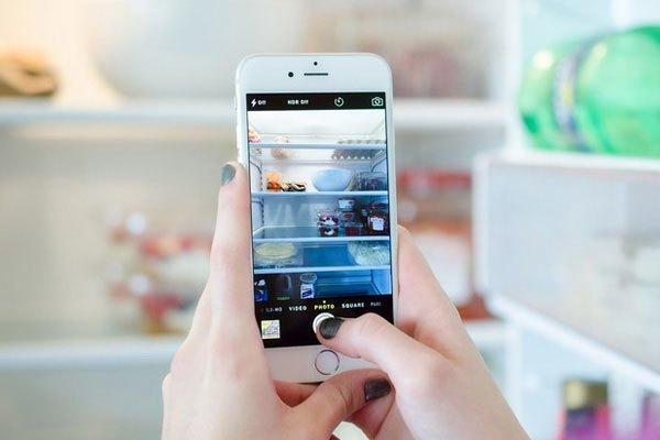 Bạn sẽ mua sắm dễ dàng hơn nếu đã chụp ảnh tủ lạnh trước