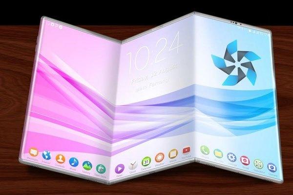 Chiếc điện thoại Samsung này có khả năng mở rộng đến 3 màn hình