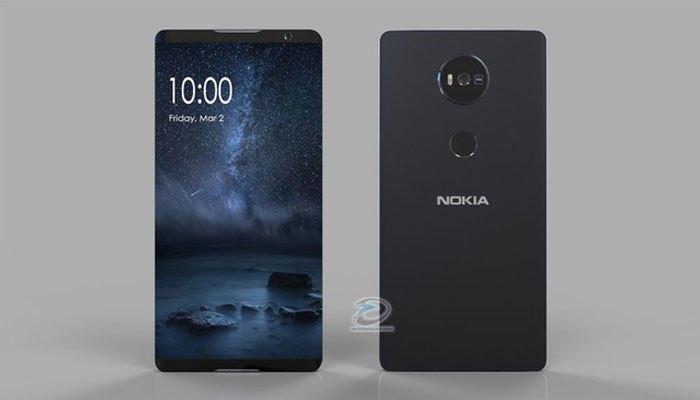 """Điện thoại Nokia Edge hiện ra vừa """"sexy"""" lại vừa mạnh mẽ dưới bàn tay của Tech Configurations."""