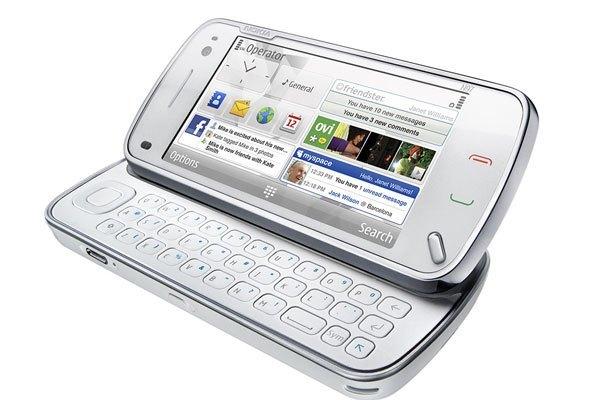 Điện thoại Nokia N97 sở hữu màn hình lớn và rộng hơn