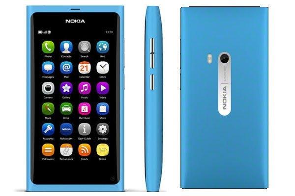 Điện thoại Nokia N9 là lời thách thức đến iPhone