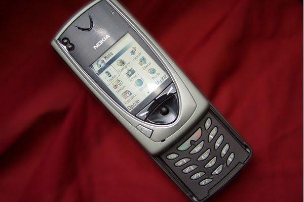 Nokia 7650 là điện thoại đầu tiên của hãng được trang bị camera