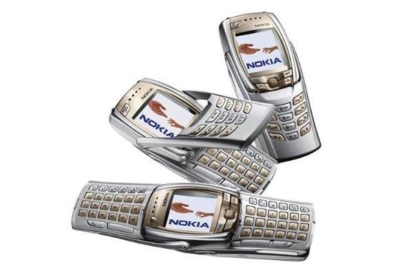 Nokia 6800 còn có biệt danh điện thoại con bướm nhờ thiết kế độc đáo