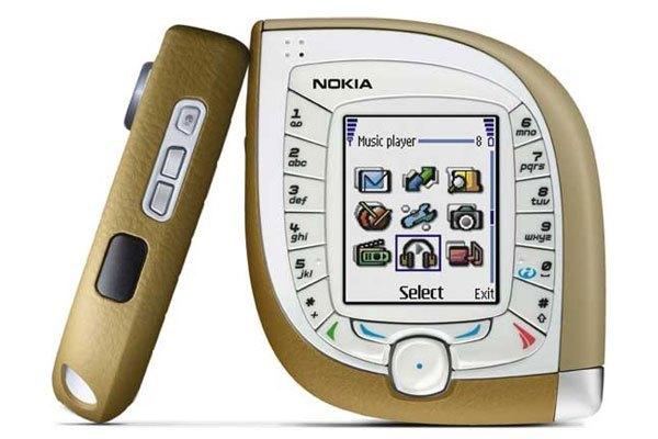 Nokia 7600 là chiếc điện thoại đầu tiên có kết nối 3G.