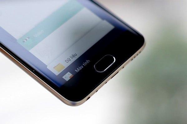 Nút Home của điện thoại Meizu M5 được trang bị khả năng mở khóa bằng vân tay