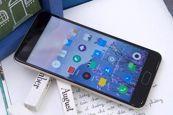 Giao diện điện thoại Meizu M5 khá giống iOS