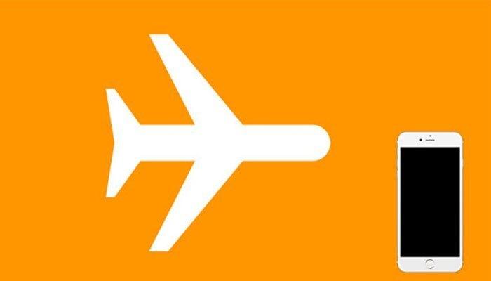 Chuyển sang chế độ máy bay cho điện thoại nếu tắt thông báo không đạt hiệu quả