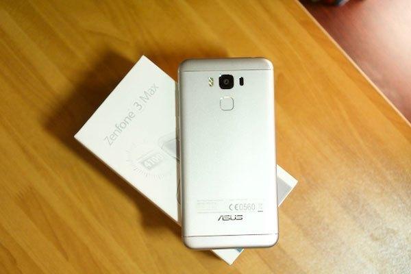 Điện thoại ASUS Zenfone 3 Max 5.5 inch được thiết kế sang trọng, tinh tế