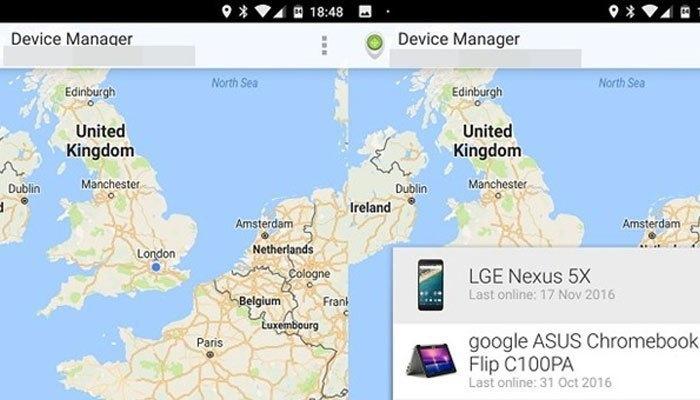 Ứng dụng Android Device Manager đã quá quen thuộc với người dùng điện thoại Android