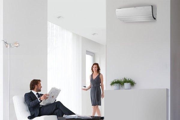 Máy lạnh cần lắp đặt ở nơi tránh ánh nắng mặt trời
