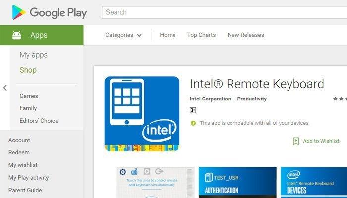 Remote Keyboard là ứng dụng giúp bạn điều khiển máy tính trên điện thoại