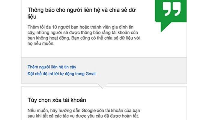Bạn có thể dùng điện thoại để thiết lập thời gian trên Gmail