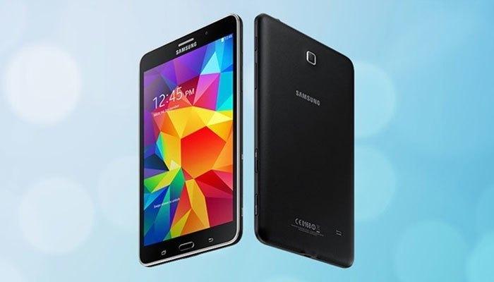 Samsung Galaxy Tab 4 tích hợp 2 camera trước và sau hỗ trợ nhu cầu chụp ảnh của bạn