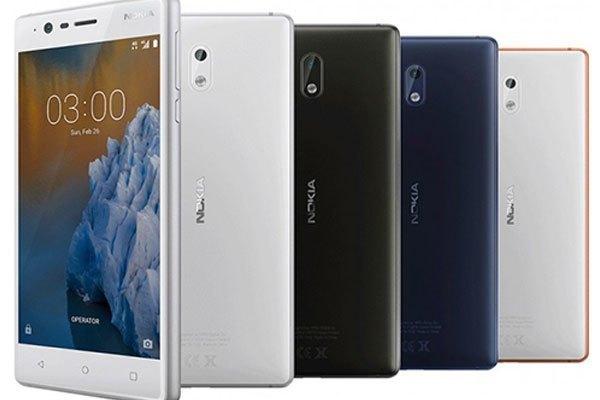 Mẫu điện thoại Nokia 3 có giá thành khá mềm
