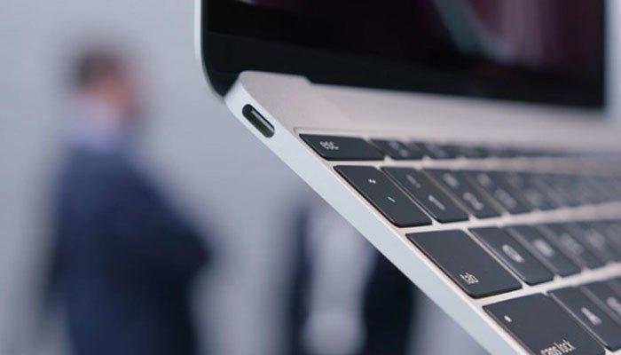 Máy tính xách tay Macbook 12 inch chỉ có duy nhất một cổng USB