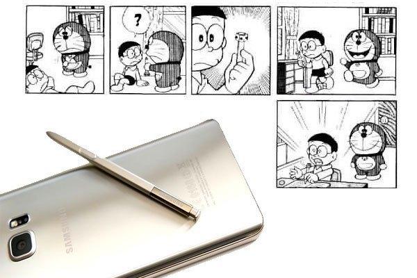 Bút S Pen trên điện thoại Samsung cho bạn những trải nghiệm viết vẽ mượt mà