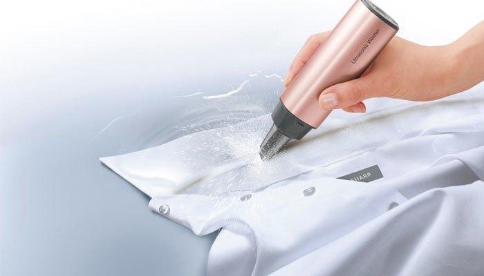 Máy giặt mini Ultrasonic Washer đánh bay mọi vết bẩn cứng đầu