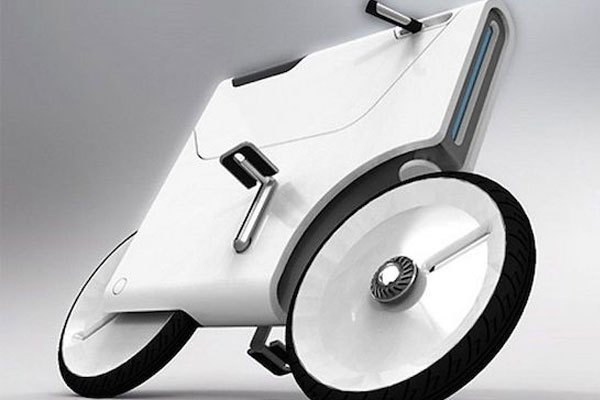 Rồi bây giờ là đến cả laptop biến hóa thành xe đạp nữa à?