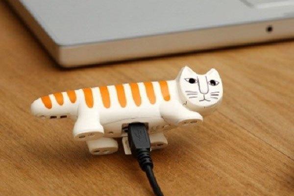 Đây là một chiếc máy ảnh có tên Necono Cat Digital được trang bị ống kính độ phân giải 3 MP và cảm biến chuyển động