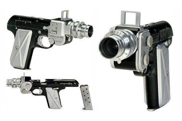 Máy ảnh Doryu 2-16, một thiết kế quái đản của người Nhật