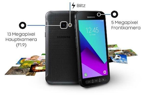 Camera trước và sau của điện thoại Samsung có khả năng chụp ảnh trong mọi điều kiện thời tiết