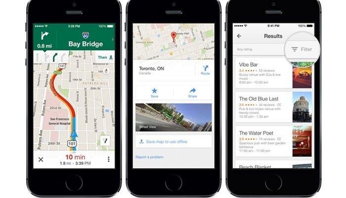 Google Maps đang là ứng dụng bản đồ thịnh hành nhất hiện nay được người dùng sử dụng để dò đường trên điện thoại