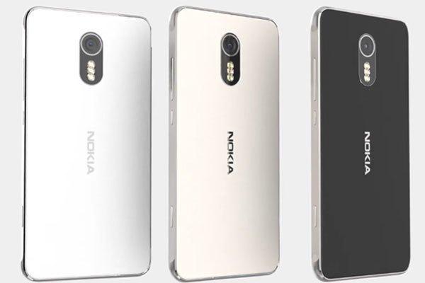 Điện thoại Nokia P1 gồm 3 phiên bản màu