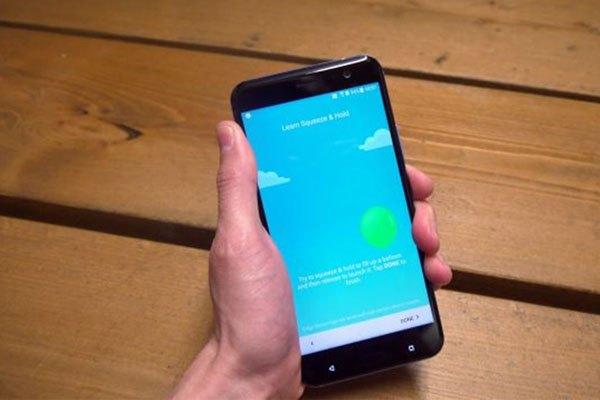 Edge Sense trên điện thoại HTC U11 sẽ hoạt động tốt chứ?