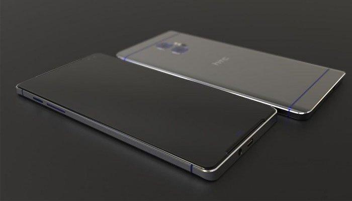 Điện thoại HTC 11 mặt sau kim loại nguyên khối