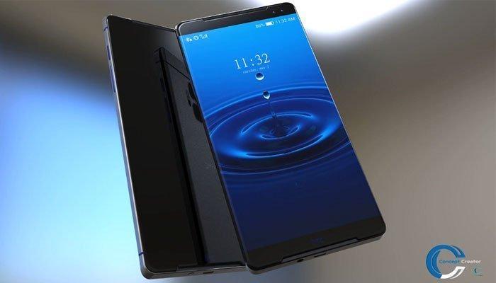 Màn hình điện thoại HTC 11 theo xu hướng cong tràn 2 cạnh