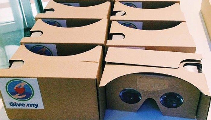 Những chiếc kính thực tế ảo Google Cardboard