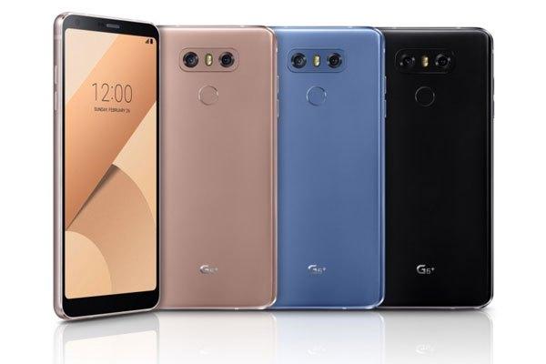 LG vừa trình làng 2 phiên bản điện thoại G6 Plus và G6 32GB