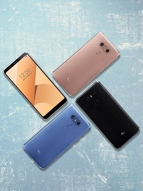 Các phiên bản mới của điện thoại LG G6 được hỗ trợ nhiều lựa chọn màu sắc hơn