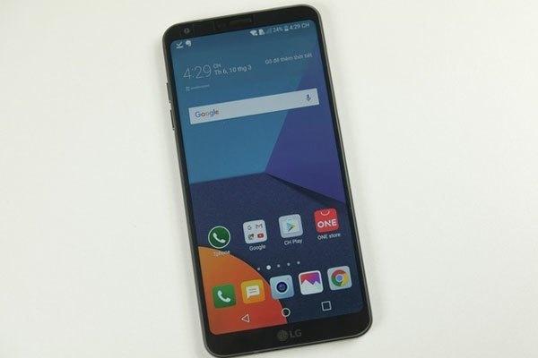 Cận cạnh chiếc điện thoại LG G6