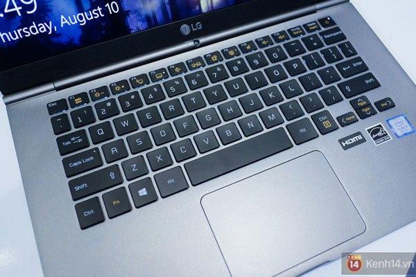 Laptop LG Gram xử dụng bộ vi xử lý thế hệ mới nhất