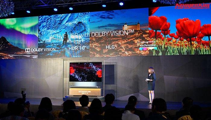 Chất lượng âm thanh và hình ảnh tuyệt hảo trên OLED TV LG