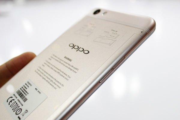 F3 Plus thanh mảnh và mang nét sang trọng đặc trưng của OPPO