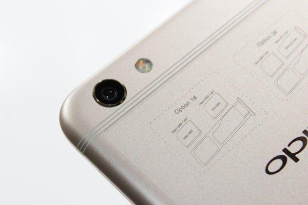 Camera sau điện thoại OPPO F3 Plus được nâng cấp lên đến 16 MP